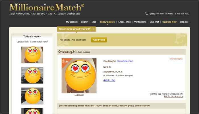 millionairematch com review