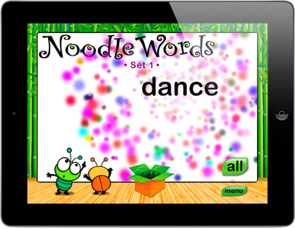 noodle words for iphone and ipad