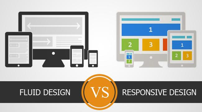 Fluid vs. responsive