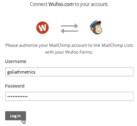 Mailchimp - Wufoo integration