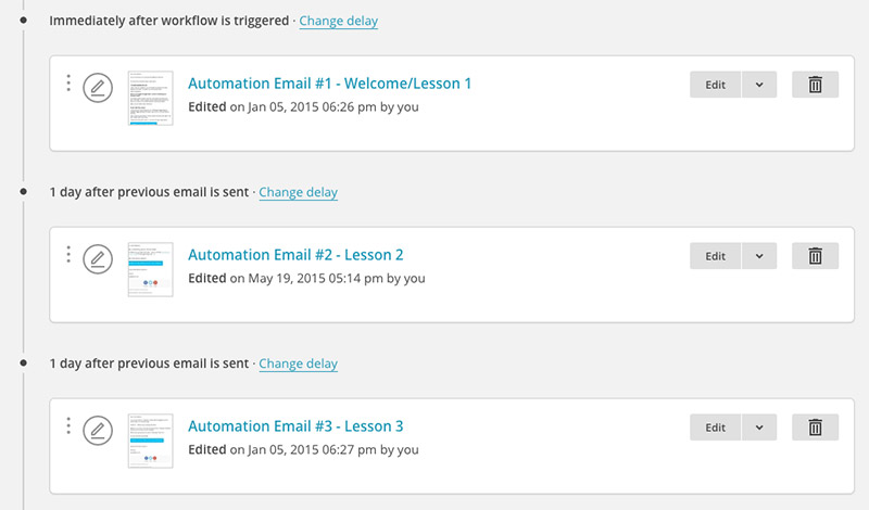 Automation by Mailchimp
