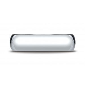 Platinum 6mm Slightly Domed Super Light Comfort-fit Ring