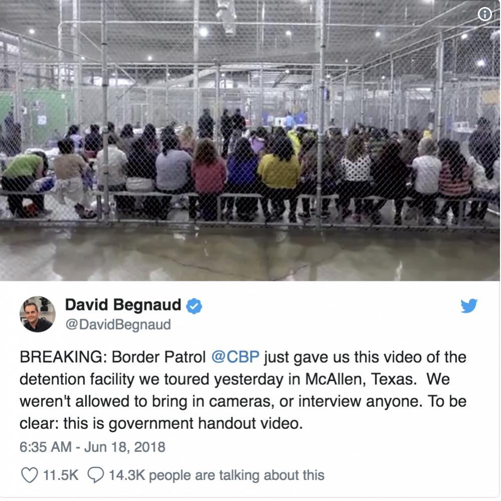 Trump migrant center 2