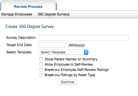 Create A 360 Survey - Performance Management Software To Expand
