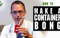 How to Make a Bong from Used Medicine Container Marijuana Tricks & Tips w/ Bogart #12