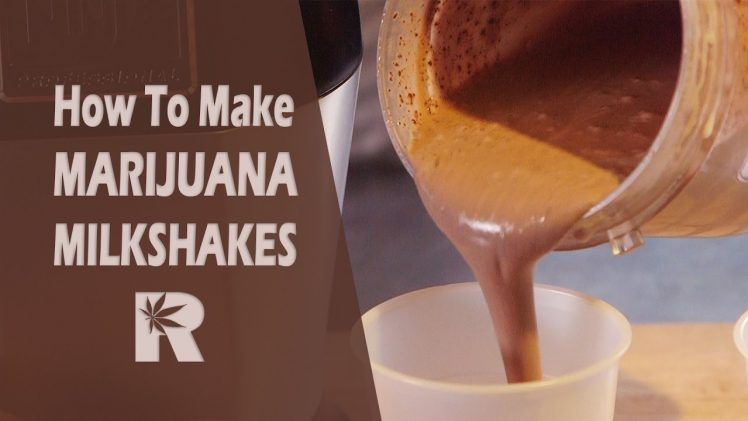 How To Make Marijuana Milkshakes (Edibles/ Firecrackers/ Weed Smoothies): Cannabasics #50