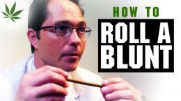 How to Roll a Blunt Marijuana Tricks & Tips w/ Bogart #5