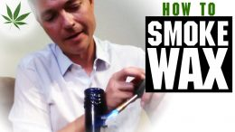 How to Smoke Wax Concentrates, Budder, Shatter, Oil Dabs Marijuana Tricks & Tips w/ Bogart #3