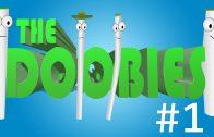 The Doobies Stoner Cartoon w/ Joints, Blunts, Cannabis Creatures & Marijuana Melodies #1