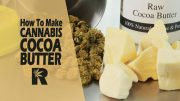 How To Make Cannabis Infused Cocoa Butter (For making chocolate/ lotions/ ointments) Cannabasics #66