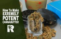 How To Make Extremely Potent Cannabutter/ Canna-oil (Using a 2-Stage Extraction): Cannabasics #71