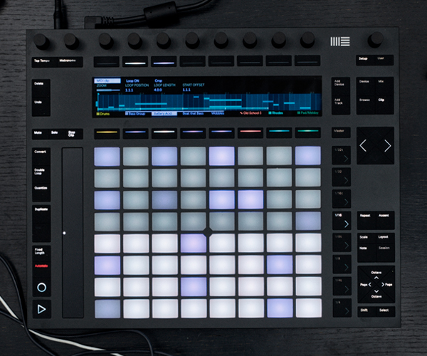 Produce Music with Ableton Push 2 | Sequence One