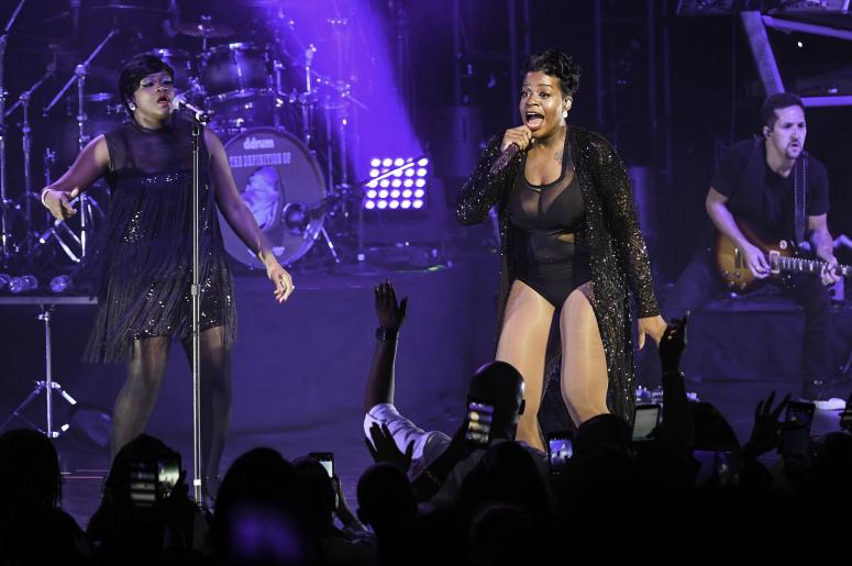 Fantasia performs at the Broward Center.