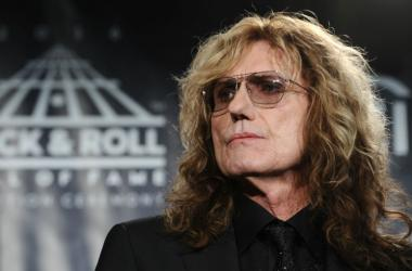 David Coverdale of the band Deep Purple