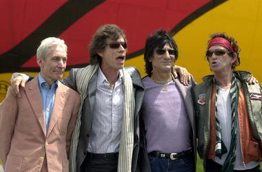 The Rolling Stones in 2002