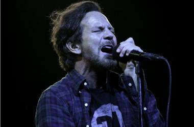 Pearl Jam lead singer Eddie Vedder performs at the BB&T Center