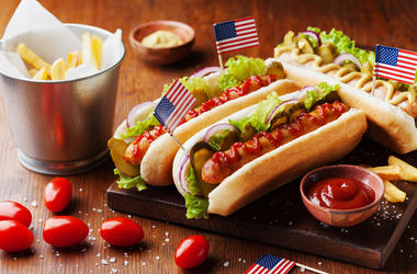 National Hot Dog Day!