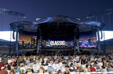 Stage at the Classic West at Dodger Stadium in Los Angeles