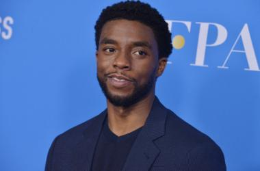 Chadwick Boseman arrives at the Hollywood Foreign Press Association's Annual Grants Banquet held at the Beverly Wilshire Four Seasons Hotel in Beverly Hills, CA on Wednesday, August 2, 2017.