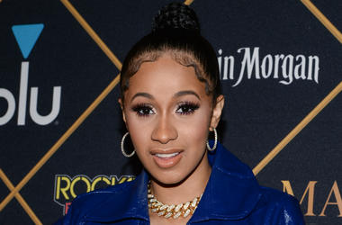 Cardi B arrives at the The 2018 MAXIM Party at Schaffer-Richardson Building on February 3, 2018 in Minneapolis, Minnesota.