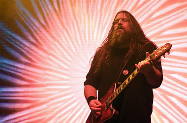 Mark Morton of Lamb of God performs at The Joint inside the Hard Rock Hotel & Casino