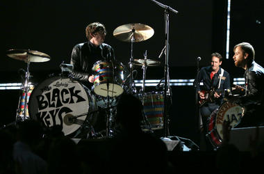 Dan Auerbach of The Black Keys onstage during the 55th Annual GRAMMY Awards
