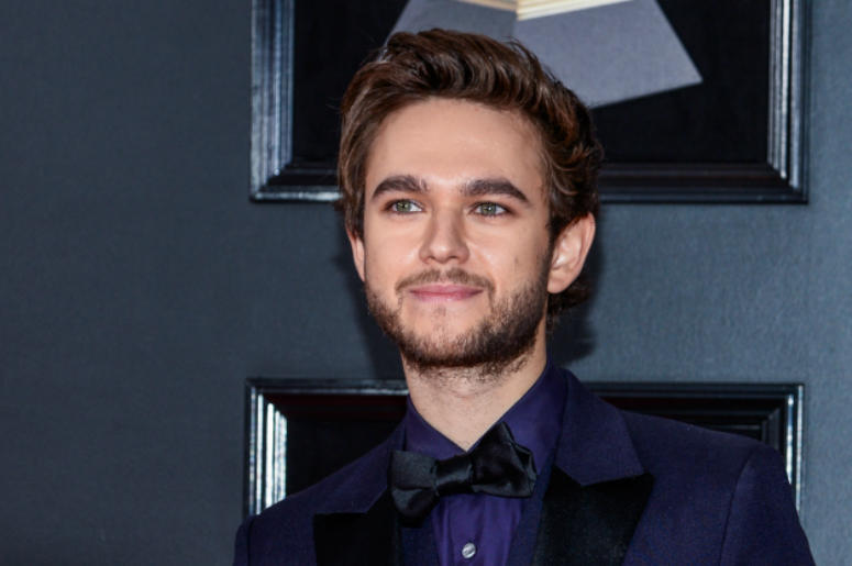 Zedd arrives at the 60th Annual GRAMMY Awards red carpet at Madison Square Garden in New York City, NY on January 28, 2018.