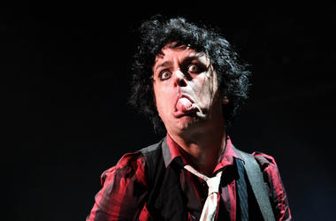 Billie Joe Armstrong of Green Day performs at the Coral Sky Amphitheatre