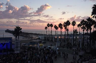 Last Year's Indie Jam At The Oceanside Pier
