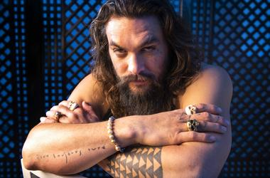 "Dec 13, 2018; Los Angeles, CA, USA; Portrait of Jason Momoa who stars as the title character in the film ""Aquaman.\"""