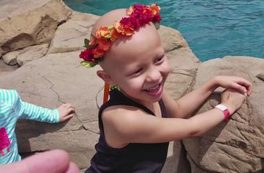 Special Day for Zaliyah at Dolphinaris