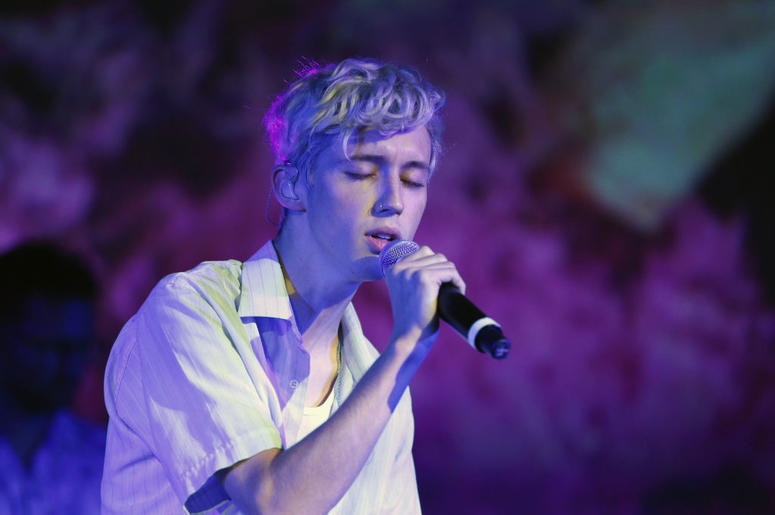 Troye Sivan performs onstage during Capitol Music Group's 5th annual Capitol Congress