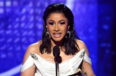 Cardi B accepts the Best Rap Album for 'Invasion of Privacy' onstage during the 61st Annual GRAMMY Awards