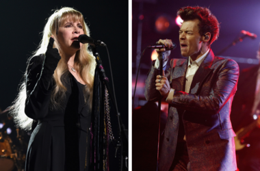 Stevie Nicks and Harry Styles
