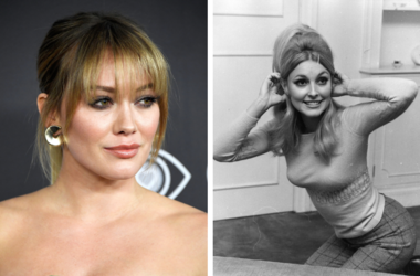 Hillary Duff and Sharon Tate