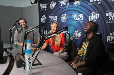 Jason Derulo Hangs With The AMP Morning Show