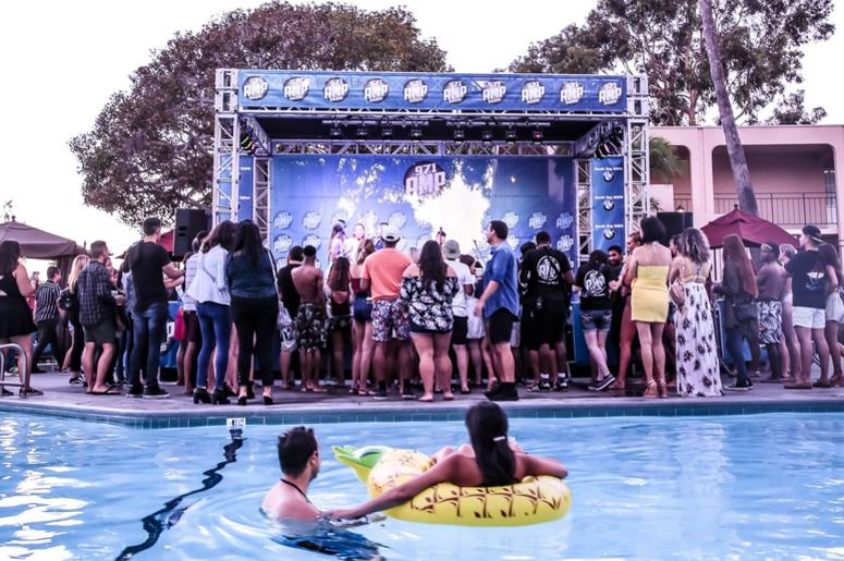 AMP Bazzi Pool Party