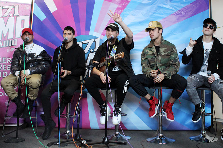 CNCO Hangs With 97.1 AMP Radio