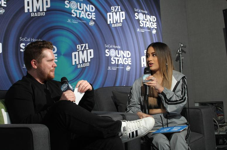 Ally Brooke Sits Down With McCabe at 97.1 AMP Radio
