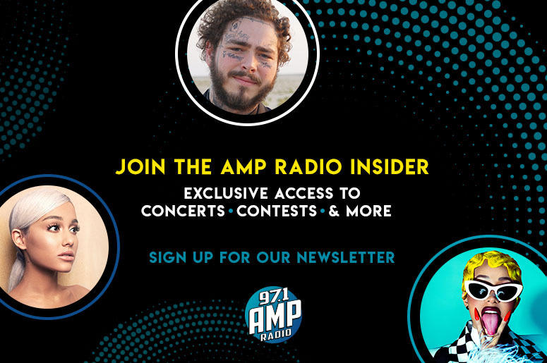Join The 97.1 AMP Radio Email Newsletter