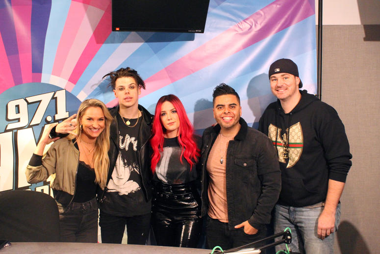 YungBlud + Halsey Sit Down With AMP Morning Show