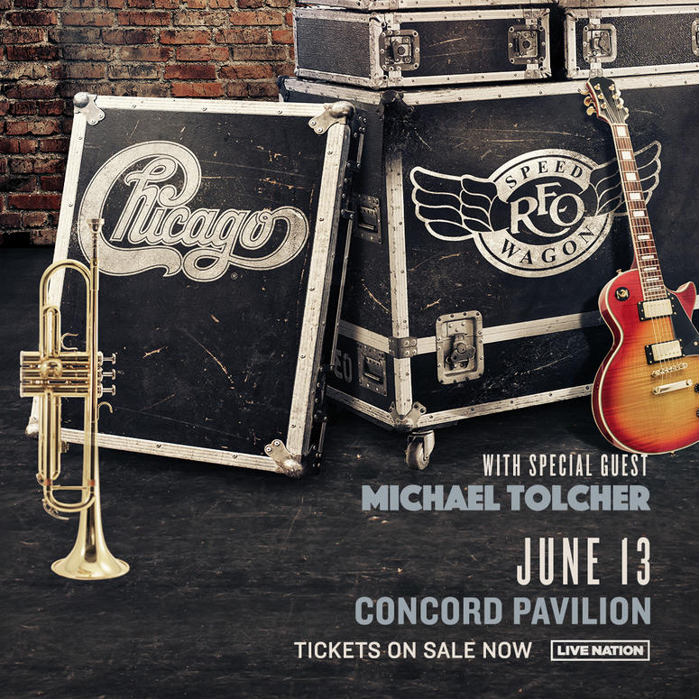 Chicago and REO Speedwagon at Concord Pavilion