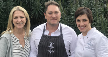 Jill Giacomini-Basch, Liam and Chef Jennifer Luttrell