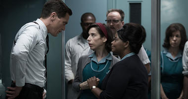 """Michael Shannon, Sally Hawkins and Octavia Spencer in """"The Shape of Water"""""""