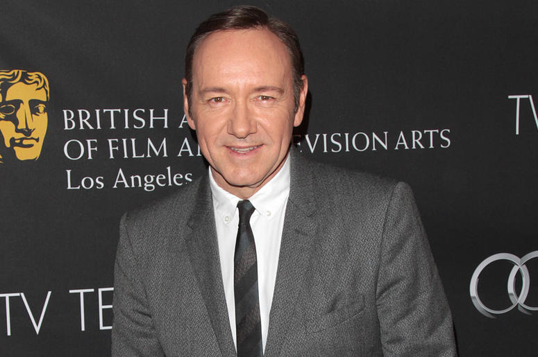 Kevin Spacey attends Bafta Los Angeles TV Tea 2013 at the SLS Hotel in Los Angeles, CA on September 21, 2013. (Photo by Adam Orchon/Sipa USA)