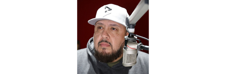 Q102's Chuy Gomez at the 4th Annual Smackdown