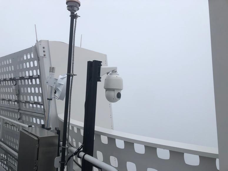 Salesforce Tower roof