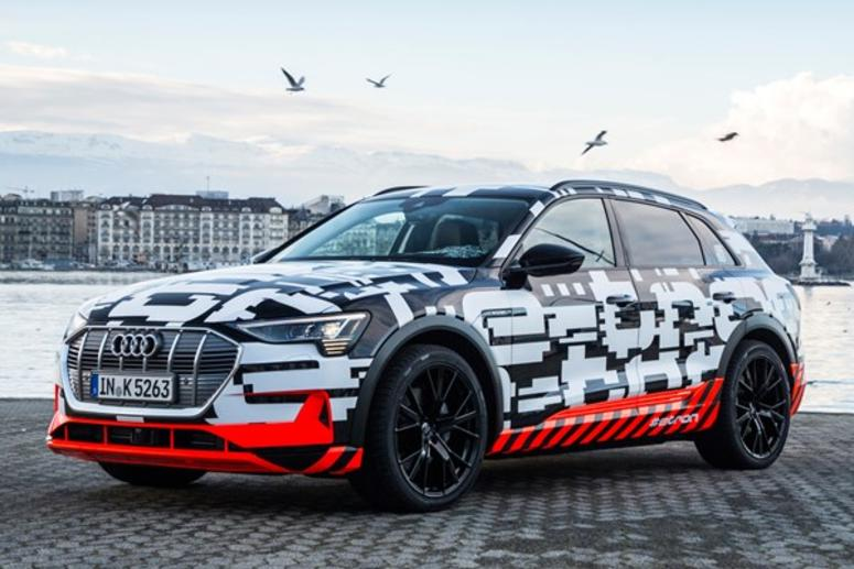 audi to reveal new electric e-tron suv in san francisco event | kcbs