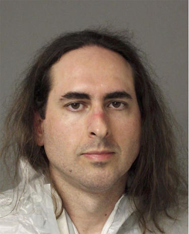 In this June 28 2018 photo released by the Anne Arundel Police, Jarrod Warren Ramos poses for a photo, in Annapolis, Md. First-degree murder charges were filed Friday against Ramos who police said targeted Maryland's capital newspaper, shooting his way in