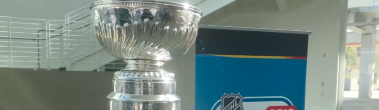 Stanley Cup Arrives In San Jose For All-Star Festivities